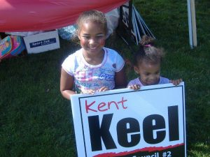 young supporters of my campaign